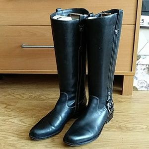 Joan & David CircaTall Black Riding Boots 6.5